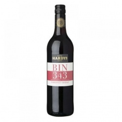 Hardys Bin 343 Cabernet Sauvignon Shiraz case of 6 or £5.99 per bottle[1]